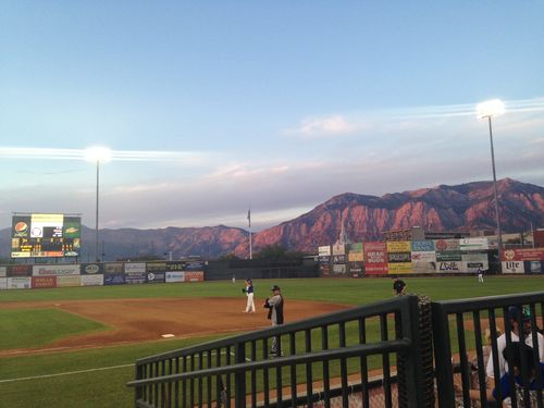 Ogden raptors game field
